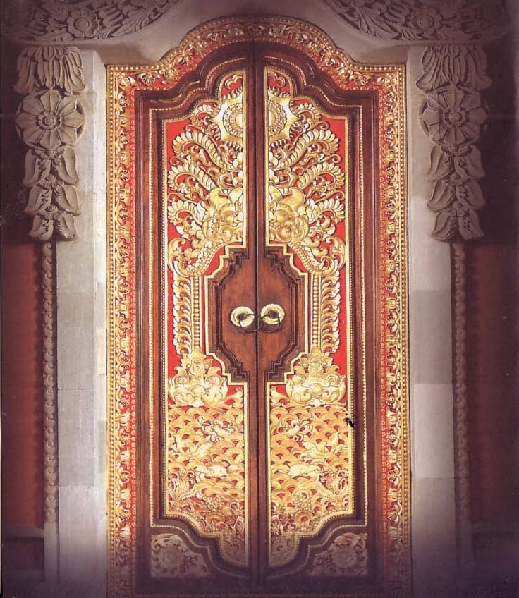 Beautiful Balinese style door #Indonesia
