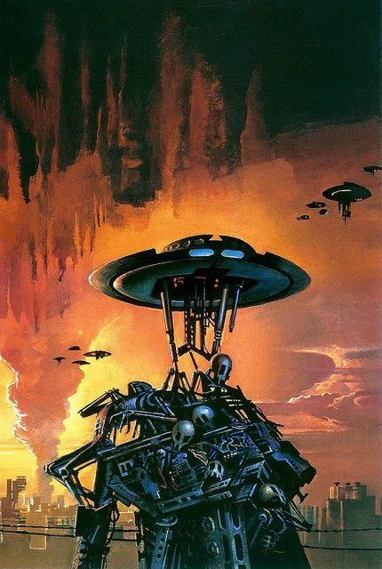 Bruce Pennington - New Worlds, No.6