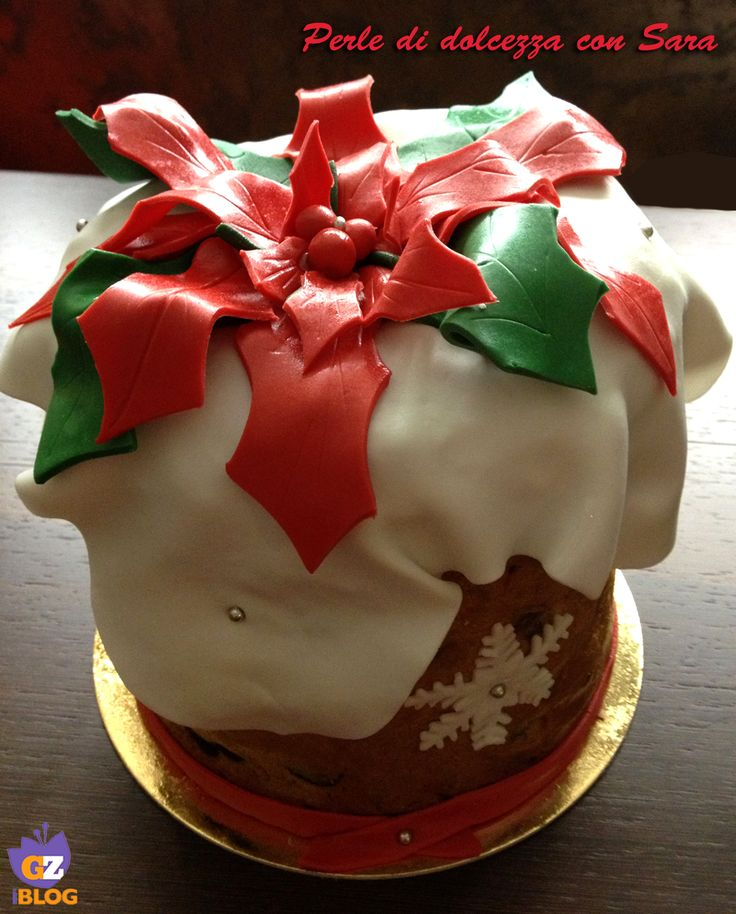 Cake+design:+panettone+decorato