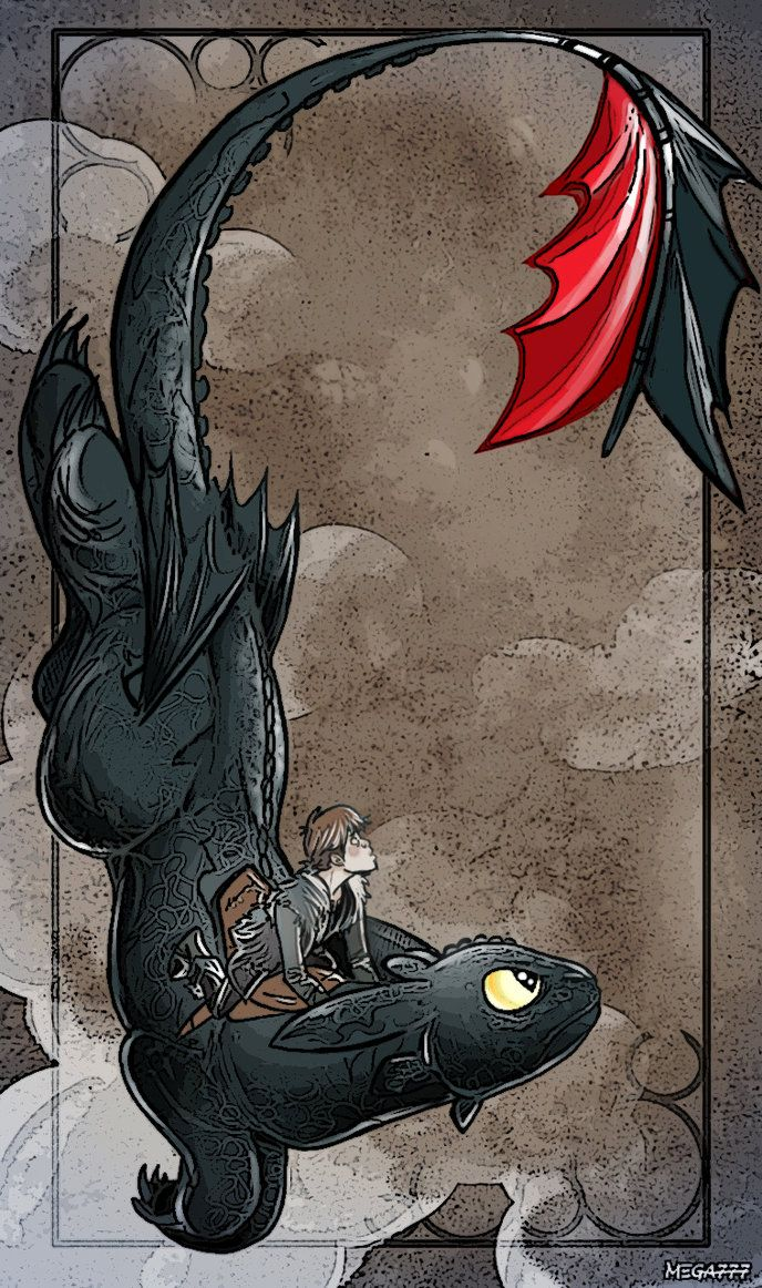 toothless and hiccup...yay!!! not bbc but i'm too lazy to switch boards.
