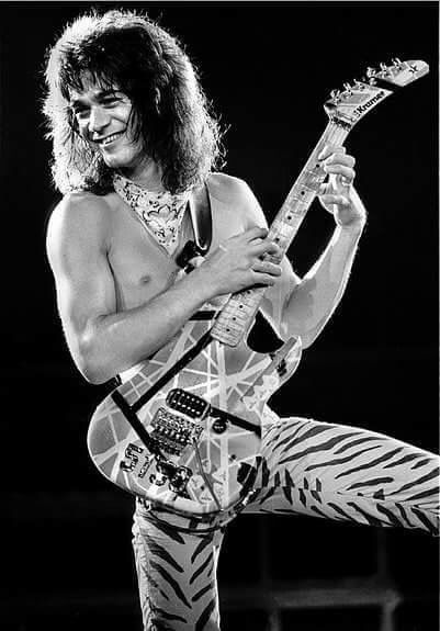 Awwww he's so cute!! Eddie Van Halen ❤️  1984