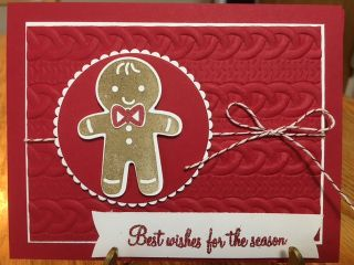 Best wishes for the season // Jan's stamping creations