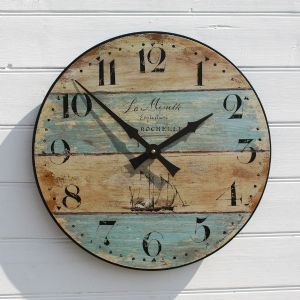 La Mouette Clock | Nautical Clocks | Wall Clocks | Driftwood Styled