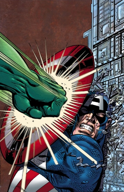 Captain America vs Hulk