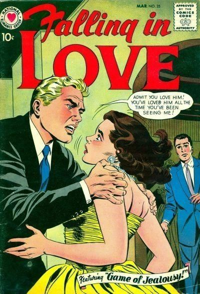 """20 Hilarious And Weird """"Falling In Love"""" Comic Book Covers"""