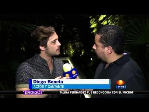 Diego Boneta en el programa Primer Noticias (Playa del Carmen)   Diego Boneta Group