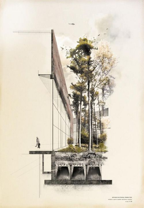 archisketchbook - architecture-sketchbook, a pool of architecture drawings, models and ideas - Belfast 'Polis' House by Catherine Blaney