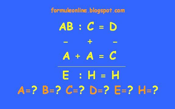 formuleonline probleme si exercitii rezolvate: Ghicitoare matematica 130