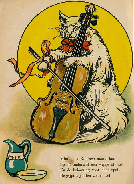 "Illustration from the Dutch children's book, ""Koning Dikzak"" (1910)"