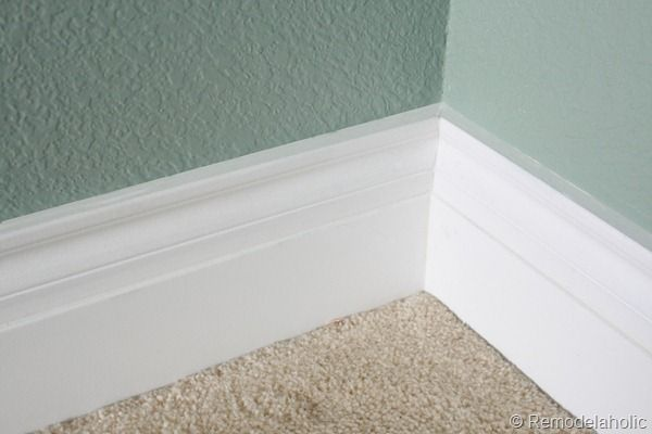 If we have to replace our baseboards after tiling...