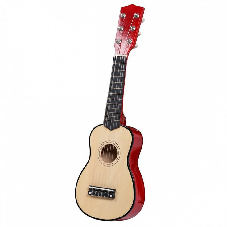 """21"""" Beginners Kids Acoustic Guitar 6 String with Pick. Ebay"""