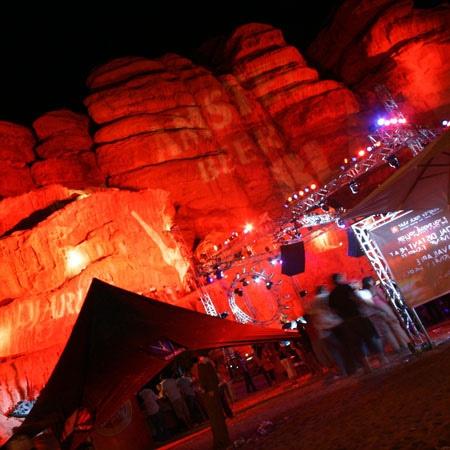 Distant Heat - Jordan (dance event in the middle of the Wadi Rum desert)