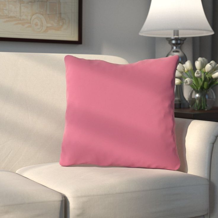 Liven up your living room or master suite in classic style with this lovely pillow, perfect tossed on an understated sofa for a pop of color or paired with other bold pillows for a dramatic display.