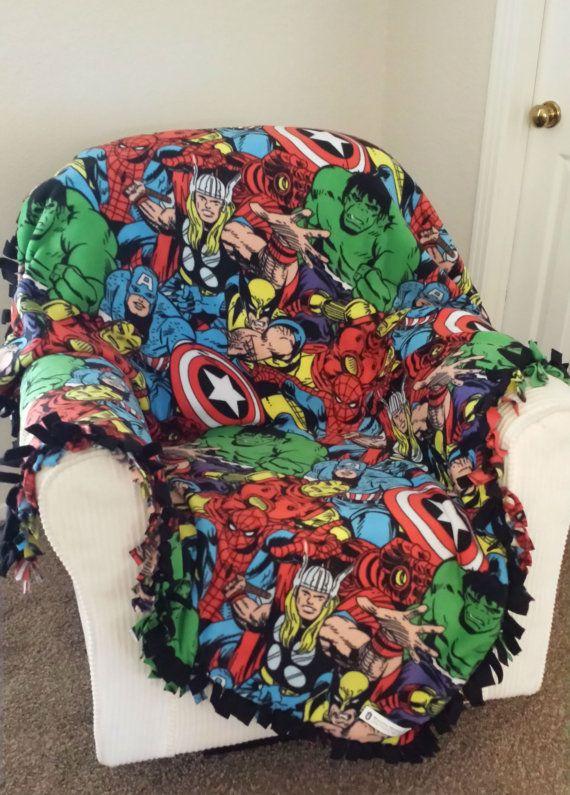 Marvel Comic Pack Print Custom Made Fleece by RolanisWonderland, $31.00 http://RolanisWonderland.com
