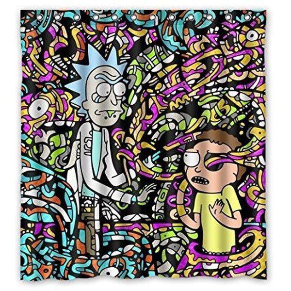 Family Christmas Gift Decor Funny Cartoon Rick And Morty
