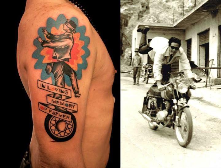 Lorenzo Loreprod Anzini (from Off the Map Tattoo studio)