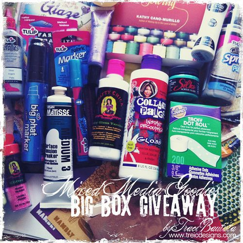 repin this photo for a chance to win a mixed media goodies BIG BOX GIVEAWAY by traci bautista--->for another chance to win enter on my blog details here: http://kollaj.typepad.com/kollaj/2012/03/big-box-of-mixed-media-goodies-giveaway.html: Goodies Big, Media Goodies, Chances, Blog Details, Tracy Bautista For, Mixed Media, Boxes Giveaways, Big Boxes, Photo