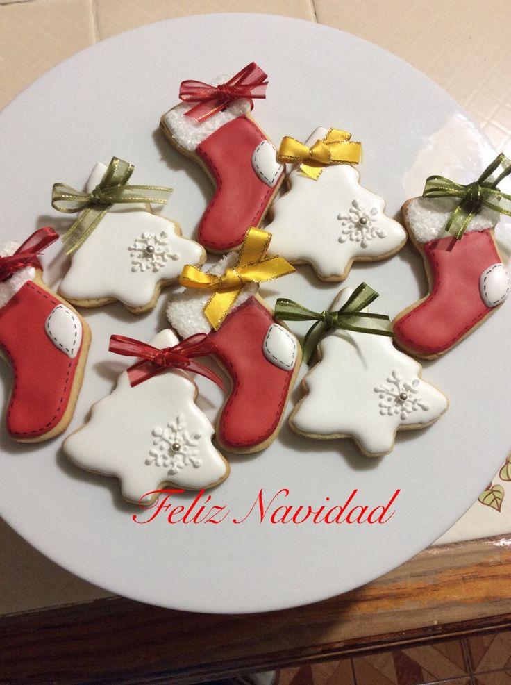 Pequeñas galletas para dar la bienvenida a la Navidad.