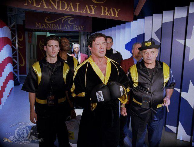 Still of Sylvester Stallone, Tony Burton, Milo Ventimiglia and Burt Young in Rocky Balboa (2006)