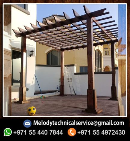 Melody Pergola Dubai With Images Pergola Wooden Pergola Free