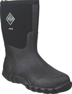 Muck Boots Hoser Classic Non-Safety Wellington Size 8. Black. 100% waterproof neoprene upper with wrap-around sole with large horizontal grips that hold in muddy conditions yet shed quickly and efficiently. Features 5mm CR Flex-Foam with airmesh l http://www.comparestoreprices.co.uk/january-2017-9/muck-boots-hoser-classic-non-safety-wellington.asp