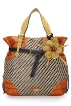 A little busy, but I still like it.  Raffia Belted Tote >> Next Direct (dot) com