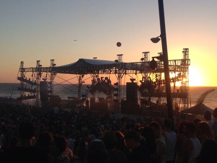 Dec 7th, Sets on the Beach, Sunset. Perth, Western Australia