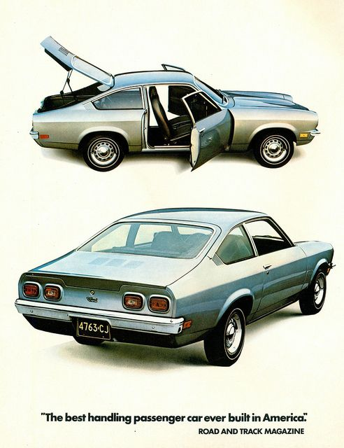 1972 Chevrolet Vega Hatchback - I used to own the hatchback in bright yellow!  Loved that car.