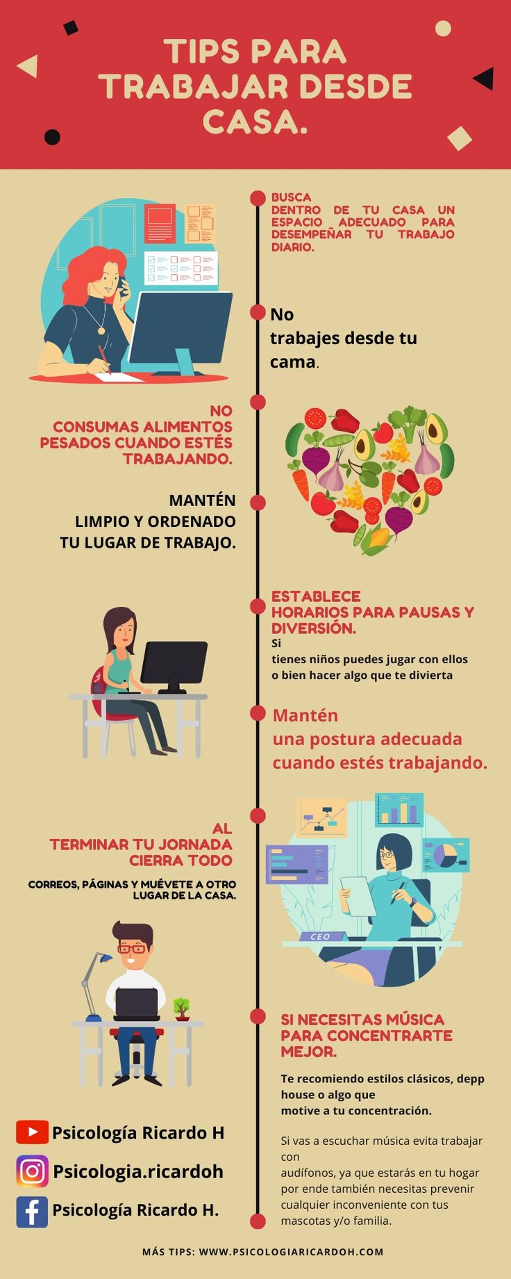 9 típs para trabajar desde la casa Marca Personal, Marketing Digital, English, Map, Frases, How To Earn Money, Life Tips, Location Map, English Language