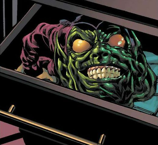 Green Goblin Mask by Mike Deodato