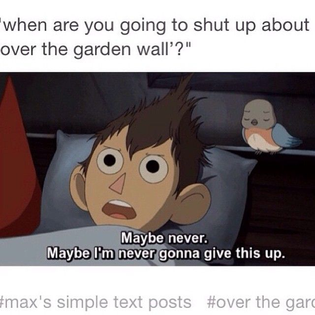 29 Best Images About Over The Garden Wall On Pinterest Gardens Posts And Dads