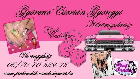 Pink Cadillac Professional Nails - Professzionális körömszobrászat!