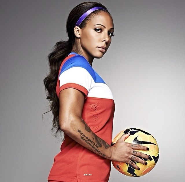 Sydney Leroux In The 2014 Us Womens National Teams -4112
