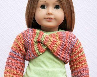 18'' Puppe Kleidung American Girl Puppe Pullover 3 von StassyDodge