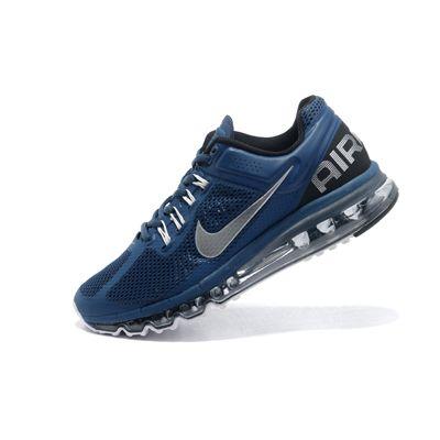 Nike Air Max 2013 Lacivert Gümüş Erkek Ayakkabı