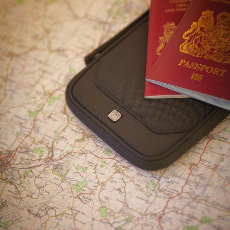 Go Travel RFID Organiser | Travel Wallet: Black | $49.95