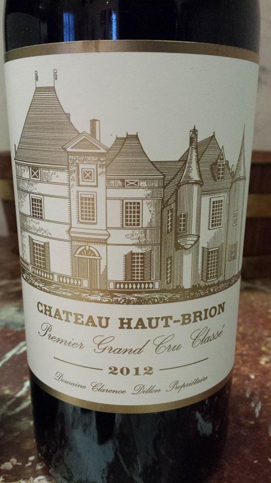 #Wine of the day // #Vin du jour : Château Haut-Brion 2012 – Pessac-Léognan, 1er Grand Cru Classé (18.75/20) http://vertdevin.com/vin/chateau-haut-brion-2012-pessac-leognan-1er-grand-cru-classe/