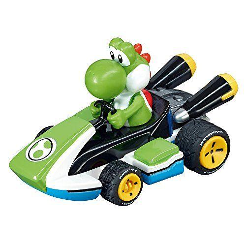 Carrera Go!!! – 20064035 – Voiture De Circuit – Nintendo Mario Kart 8 – Yoshi: Age minimum : 6 ans Descriptif produit: Yoshi, la fidèle…