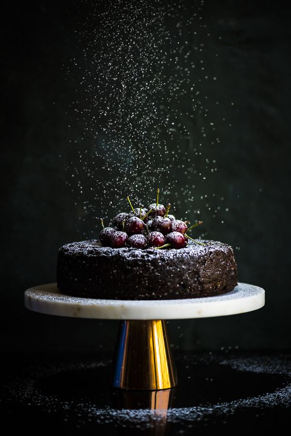 Vegan Fruitcake - a delicious and festive vegan fruitcake packed with fruit and lashings of coffee liqueur, amaretto and brandy