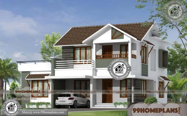 Simple Contemporary House Design 90+ Kerala Traditional House Models