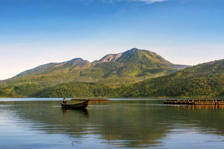 Danau talang, sumatera barat