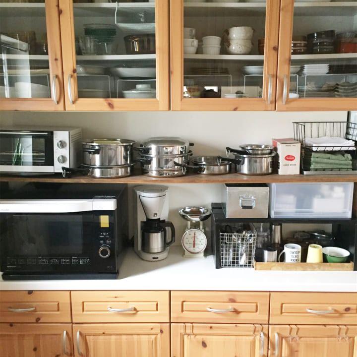 キッチン収納術まとめ スッキリお洒落なキッチンをご紹介 キッチン