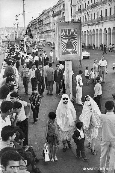 Alger, juillet 1969. Affiche du Festival sur le front de mer.I was there...