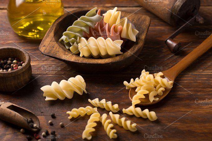 various pasta by peterzsuzsa on @creativemarket