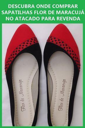 77bb40bc5 Confira como comprar sapatilhas Flor de Maracujá no atacado! Essa é uma  marca de sapatilhas