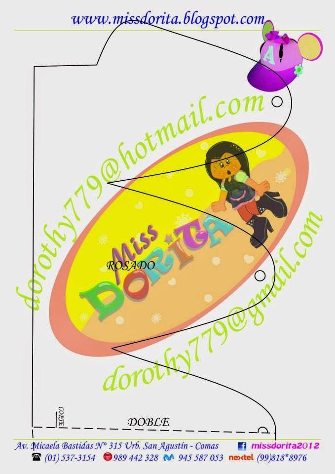Miss Dorita: Molde del Video de la Gorra de Angelina Ballerina