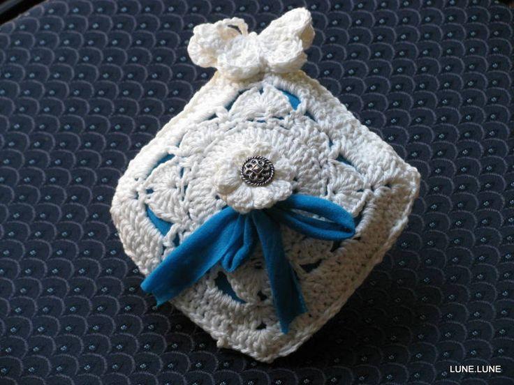 gehaakte speldenkussen chic, haken, crochet