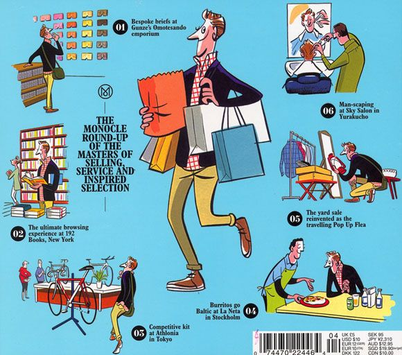 The cool illustrators from Monocle | Miss at la Playa