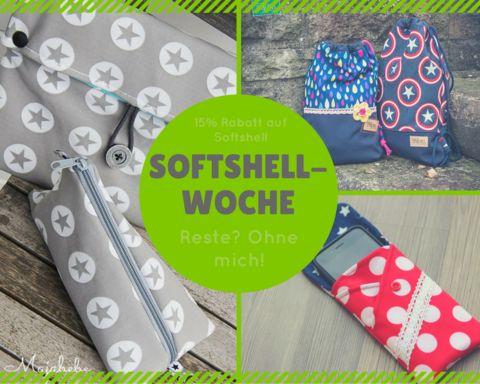 Themenwoche - Softshell-Woche - Alles über Softshell - Beispiele - Tricks & Tipps - Softshell Reste - Glückpunkt.