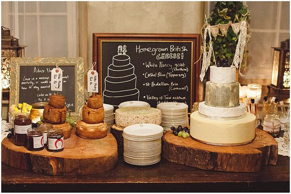 Love colour combo and the extra information but I think it takes a little away from the initial wow factor that such a grand wedding cheese cake.